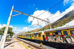 Train station of St.James. South Africa Stock Image