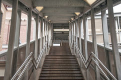 Train Station Stairs. Downtown Chicago Train Station entrance north stairs Stock Images