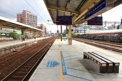 Train station,Taibei,Taiwan. stock photos