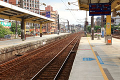 Train station,Taibei,Taiwan. royalty free stock photography
