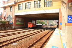 Train station,Taibei,Taiwan. royalty free stock images