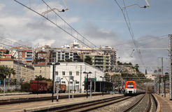 Train station of Tarragona, Spain Royalty Free Stock Photo