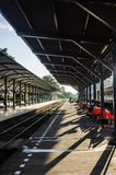 Train station in Thailand Stock Images