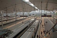 Train station, Tianjin, China Stock Photography