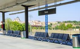 Train Station Toledo, Spain Stock Photography