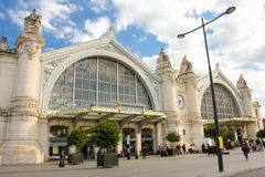 Train Station. Tours. France Royalty Free Stock Photo