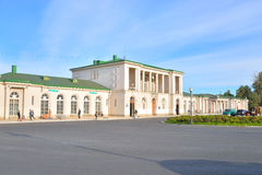 Train Station in Tsarskoe Selo. Royalty Free Stock Photos