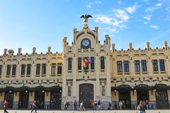 Train station in Valencia, Spain Stock Photography