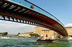 Train station in Venice. Stock Images