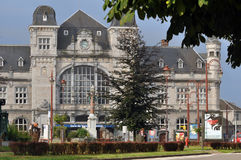 Train station Verviers Stock Photo