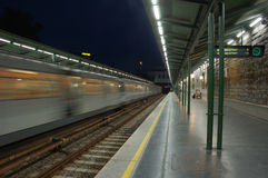 Train Station in Vienna Stock Photos