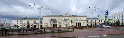 The train station in Vitebsk, Belarus Stock Image