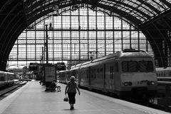 Train Station stock images