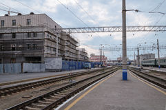 The train station in Yekaterinburg Stock Image