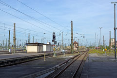 Train stations of Leipzig Stock Photography