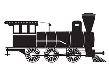 Train/steam-engine Royalty Free Stock Photography