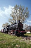 Train and steam locomotive Royalty Free Stock Photos
