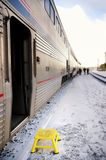 Train Step Stock Photography