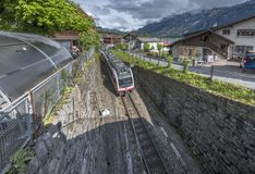 Countryside train station Royalty Free Stock Photography