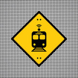 Train symbol Royalty Free Stock Photography