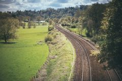 Train Tacks Royalty Free Stock Image