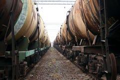 Train tanks Royalty Free Stock Photography