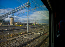 Train terminal Royalty Free Stock Images