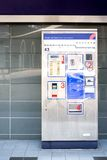Train Ticket Dispenser Royalty Free Stock Photo