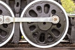 Train Tire From Workhorse Train Centennial Park. Centenial Park, located in the Nashville, Tennessee area, has many wonderful sites for the public to view. This Stock Photography