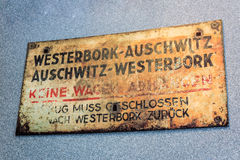 Train to Auschwitz Royalty Free Stock Photography