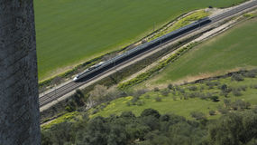 Train to Cordoba Stock Photos