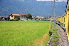 Train to Interlaken. Stock Images