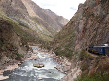 Train to Machu Picchu Stock Photo