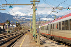 Train to the Mountains Stock Photography