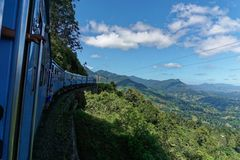 Train to Ohiya stock photos