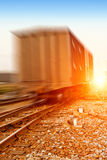 Train to run fast Stock Photography