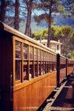 Train to Soller, Mallorca Royalty Free Stock Photo