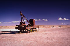 Train to Uyuni Royalty Free Stock Photography