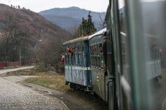 Train touristique de machine à vapeur Image libre de droits