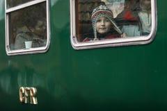 Train touristique de machine à vapeur Photographie stock libre de droits