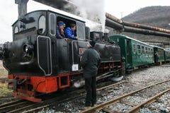 Train touristique de machine à vapeur Image stock