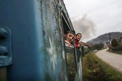 Train touristique de machine à vapeur Photographie stock
