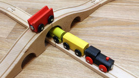 Train toy Stock Image