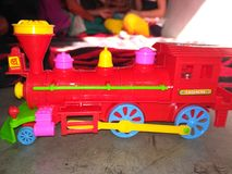 Train. Toy train photo Stock Images