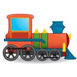 Train toy. Vector. Royalty Free Stock Photography