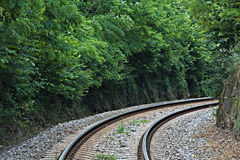 Train track Stock Photography