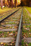 Train track Stock Image