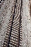 Train track. Set of railroad train tracks Stock Photography