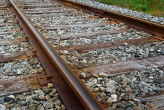 Free Train Track Royalty Free Stock Photography - 3345747