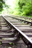 Train track B Royalty Free Stock Image